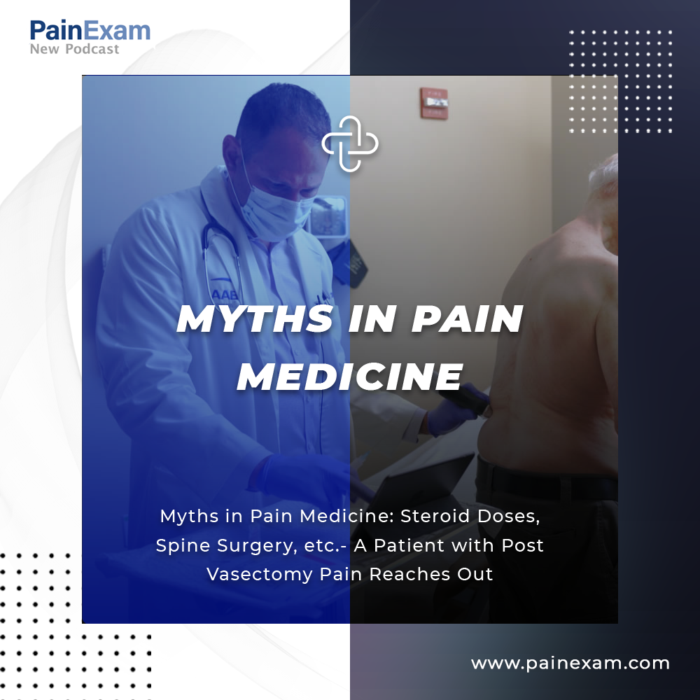 Myths in Pain Medicine